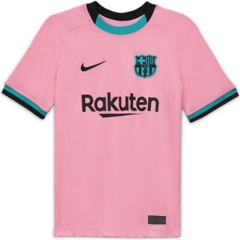 Nike FCB Y NK BRT STAD JSY SS 3R, dres o.kr nog nv, roza