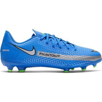 Nike JR PHANTOM GT ACADEMY FG/MG, otroški nogometni čevlji, modra