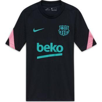 Nike FCB Y NK BRT STRKE TOP SS CL, maja o.kr nog nv, črna