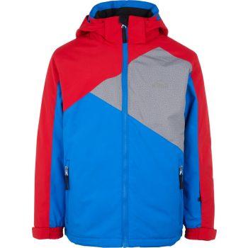 McKinley CODY II JRS, otroška smučarska jakna, rdeča