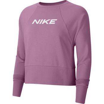 Nike W NK DRY GET FIT FC CW CP EL G, pulover ž.fit, roza