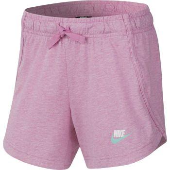 Nike G NSW SHORT JERSEY, otroške kratke hlače, roza
