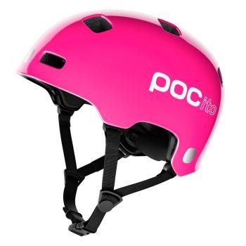 Poc POCITO CRANE MIPS, otroška kolesarska čelada, roza