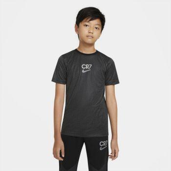 Nike DRI-FIT CR7 BIG KIDS' SHORT-SL, maja o.kr nog, črna