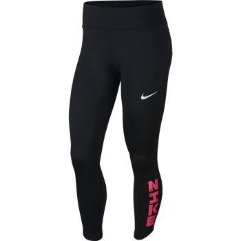 Nike W NK ICNCLSH FAST TIGHT 7/8, ženske tekaške 7/8 pajke, črna