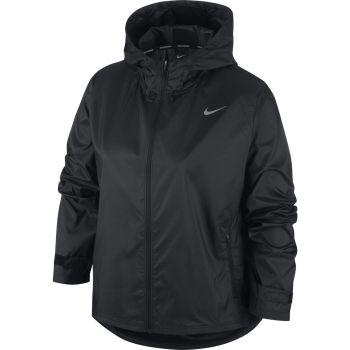 Nike ESSENTIAL WO RUNNING JACKET, ženska tekaška jakna, črna