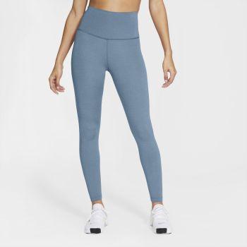 Nike YOGA WO 7/8 TIGHTS, ženske fitnes 7/8 pajke, modra