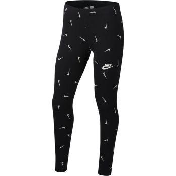 Nike G NSW FAVORITES LEGGING AOP, pajke o., črna