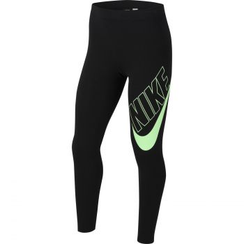 Nike SPORTSWEAR FAVORITES GRAPHIC LEGGINGS, pajke o., črna