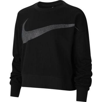Nike DRI-FIT GET FIT WOMEN'S SPARKL, maja, črna