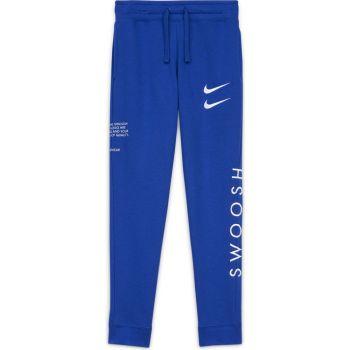 Nike B NSW SWOOSH PANT, otroške hlače, modra