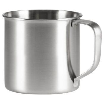 McKinley CUP STAINLESS STEEL, skodelica, srebrna