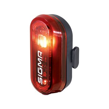 Sigma CURVE REAR LIGHT, kolesarska svetilka, črna