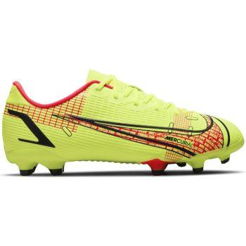 Nike JR VAPOR 14 ACADEMY FG/MG, otroški nogometni čevlji, rumena