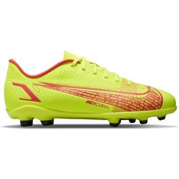 Nike JR VAPOR 14 CLUB FG/MG, otroški nogometni čevlji, rumena