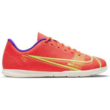 Nike JR VAPOR 14 CLUB IC, otroški nogometni copati, rdeča