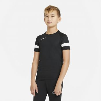 Nike DRI-FIT ACADEMY SHORT-SLEEVE SOCCER TOP, maja o.kr nog, črna