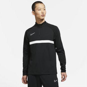 Nike DRI-FIT ACADEMY SOCCER DRILL TOP, maja m.nog, črna