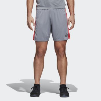 adidas TAN GRA SHORTS, moški nogometni dres, siva