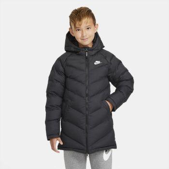 Nike SPORTSWEAR BIG KIDS' SYNTHETIC, plašč o., črna