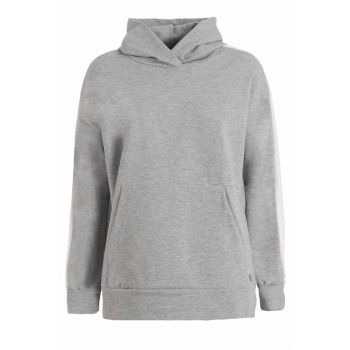 Deha FELPA CON BANDE A CONTRASTO, pulover ž., siva