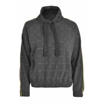 Deha FELPA PRINCIPE DI GALLES, ženski pulover, siva