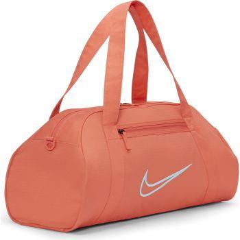 Nike W GYM CLUB - 2.0, športna torba fitnes, oranžna