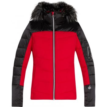 McKinley DARYL WMS, ženska smučarska jakna, rdeča
