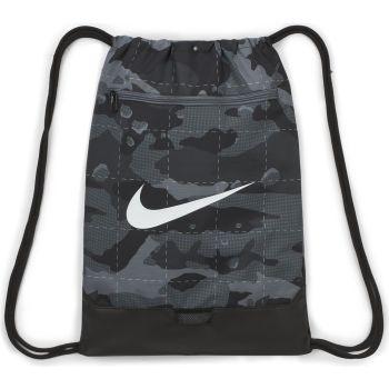 Nike BRSLA DRWSTRG 9.0 AOP, športna torba fitnes, črna