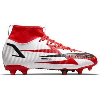 Nike JR SUPERFLY 8 ACADEMY CR7 FGMG, otroški nogometni čevlji, bela