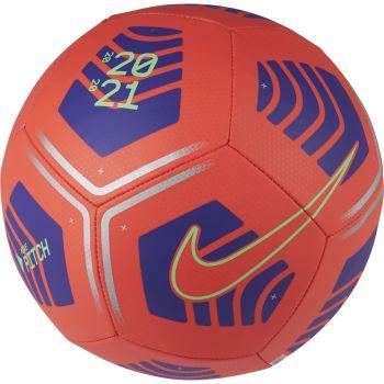 Nike PITCH, nogometna žoga, rdeča