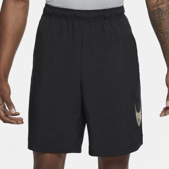 Nike DRI-FIT VEN CAMO TRAINING SHORTS, moške fitnes hlače, črna