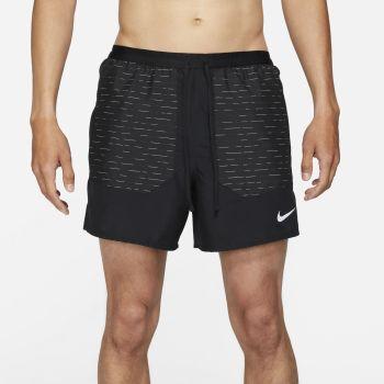"Nike DRI-FIT FLEX STRIDE RUN DIVISION 5"" RUNNING SHORTS, moške kratke tekaške hlače, črna"