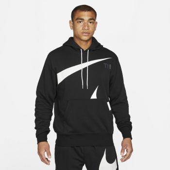 Nike SPORTSWEAR SOSH PULLOVER SEMI-BRUSHED BACK HOODIE, moški pulover, črna