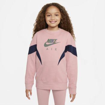 Nike AIR FRENCH TERRY SWEATSHIRT, srajca o., roza