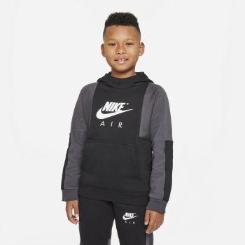 Nike AIR PULLOVER HOODIE, pulover o.fit, črna