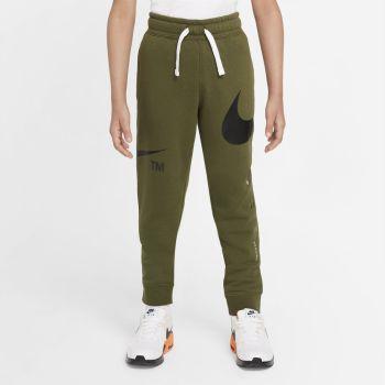 Nike SPORTSWEAR SOSH FLEECE PANTS, hlače trenirka o.fit, zelena