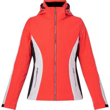 McKinley DEE II WMS, ženska smučarska jakna, rdeča