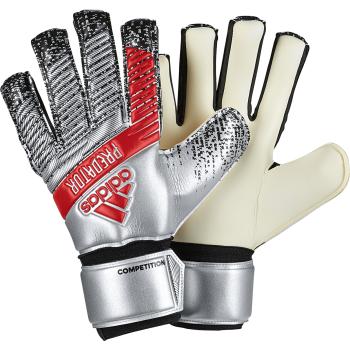 adidas PRED COMP, moške nogometne rokavice, srebrna