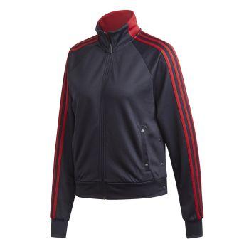 adidas W ID 3S SNAP TT, ženski pulover, modra
