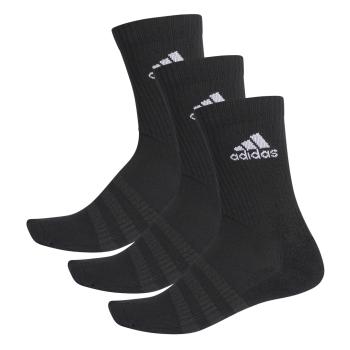 adidas CUSH CRW 3PP, nogavice m.kr fit, črna