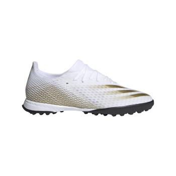 adidas X GHOSTED.3 TF, nogometni copati, bela