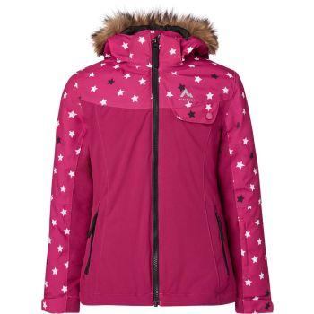 McKinley ELISABETH GLS, otroška smučarska jakna, roza