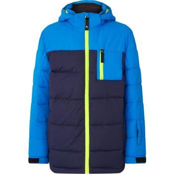 McKinley EMMET JRS, jakna o.snb, modra