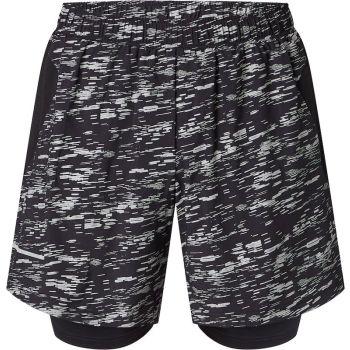 Energetics ALLEN IV UX, moške kratke tekaške hlače, črna