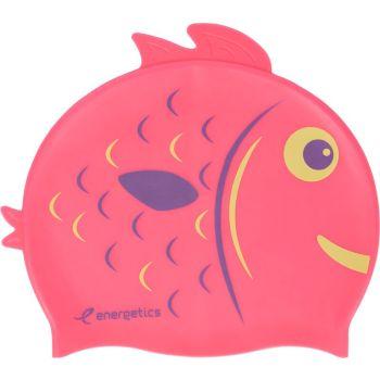 Energetics CAP SIL KIDS, otroška plavalna kapa, roza