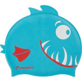 Energetics CAP SIL KIDS, otroška plavalna kapa, modra