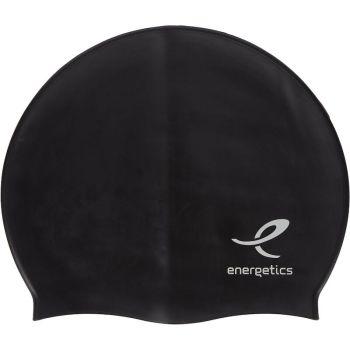 Energetics CAP SIL JR, otroška plavalna kapa, črna