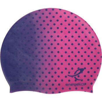 Energetics CAP SIL JR, otroška plavalna kapa, roza