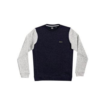 Quiksilver KELLER BLOCK CREW, moški pulover, modra